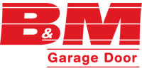 B & M Garage Door Inc Logo