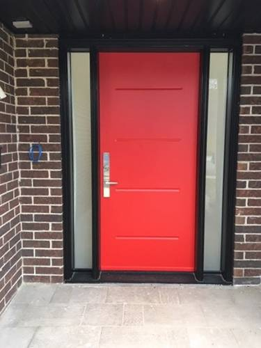 Steel Doors Installation